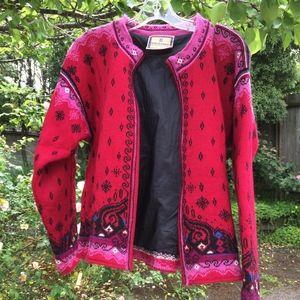 Dale of Norway Norwegian Sweater Jacket
